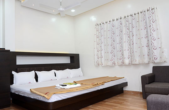 delux ac rooms in shegaon